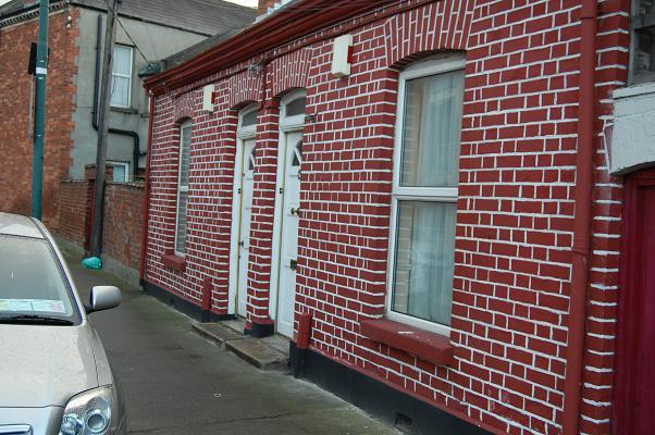 Host Family House Facade Dublin