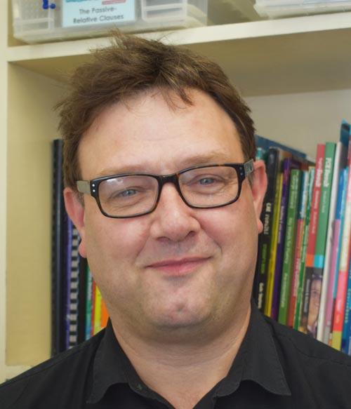 Englishour teacher John Healy