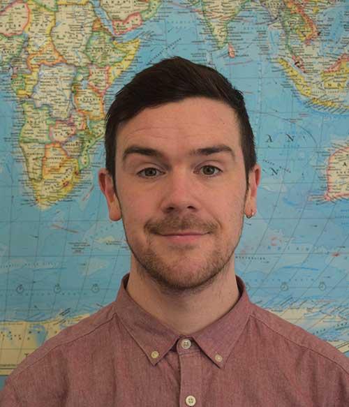 Englishour teacher Conor Kirwan