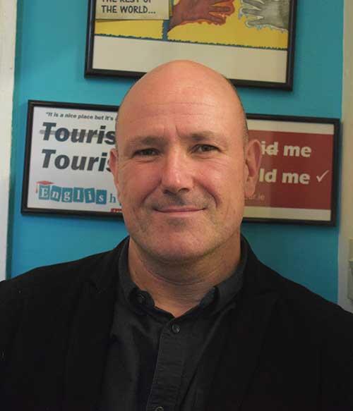 Englishour Director John Ryan
