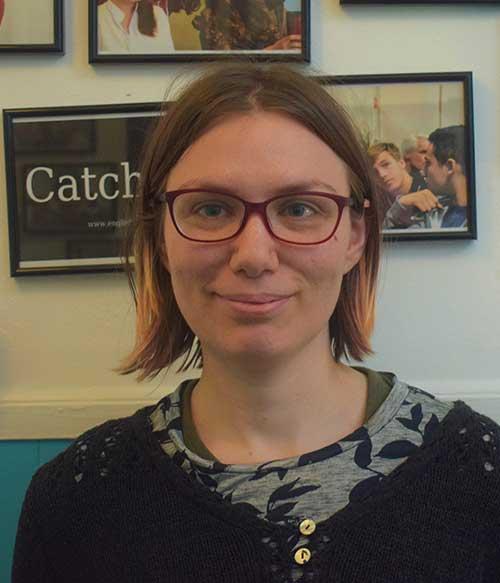 Englishour teacher Rebecca Bourke