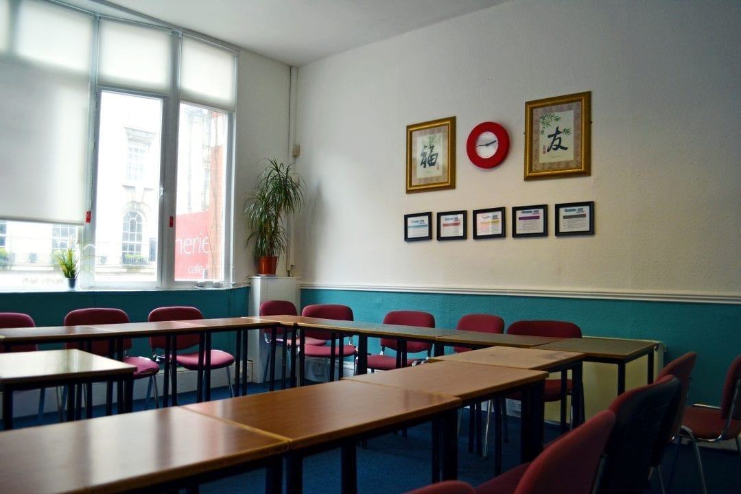 Englishour classroom